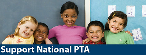 Donate to National PTA through the CFC