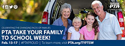 Take Your Family to School Week Facebook Cover