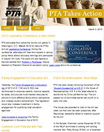 Takes Action E-newsletter