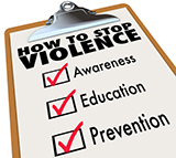 How to Stop Violence: Awareness, Education, Preven