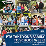 Take Your Family to School Week Social Sharable 2