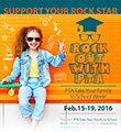 Support Your Student Rock Star Flyer