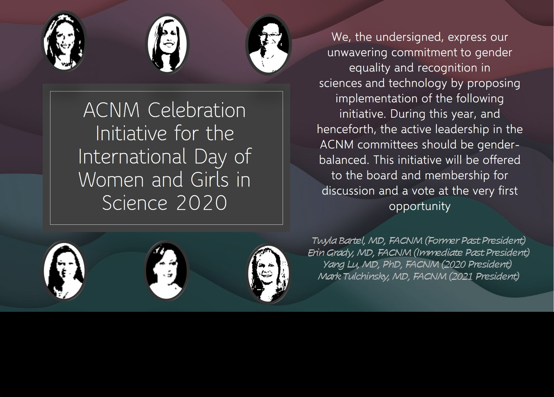 2020 ACNM Initiative for Women