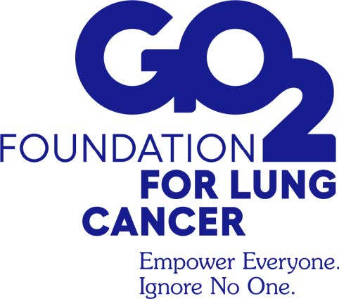GO2 Foundation for Lung Cancer Logo