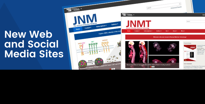 SNMMI Journals Unveil New Website and Social Media Sites