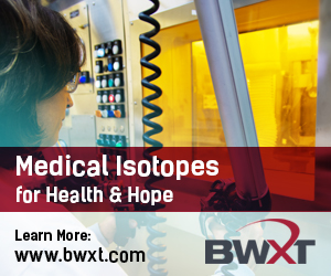 Medical Isotopes for Health & Hope. Learn more at www.bwxt.com