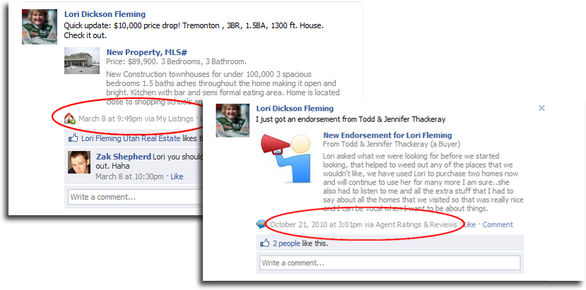 Auto Facebook posts and updates
