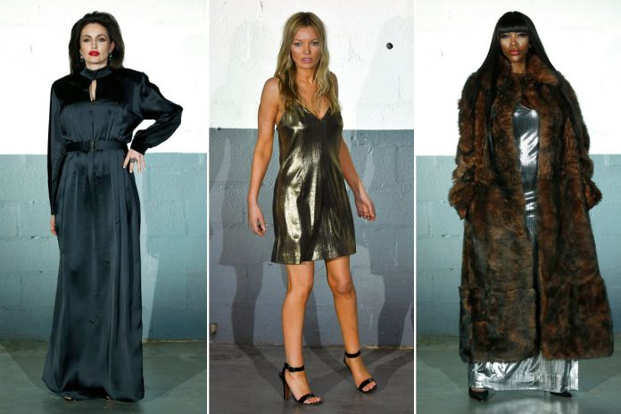 Angelina Jolie, Kate Moss and Naomi Campbell doppelgangers