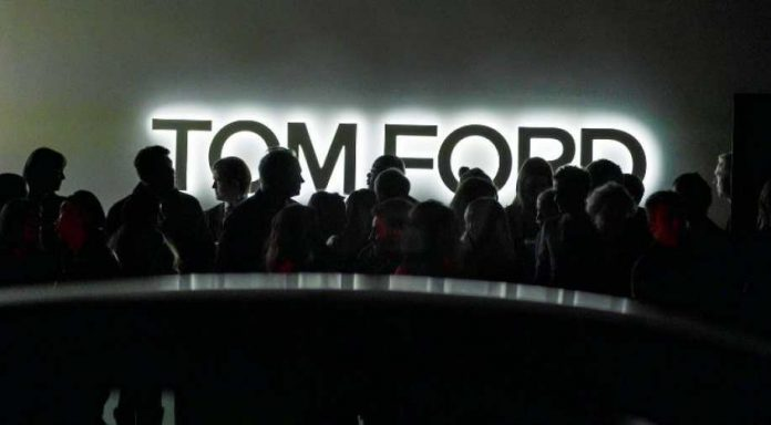 Tom Ford Fashion Show before the Oscars 2020