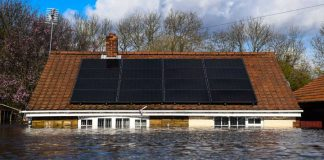 Houses In Yorkshire Underwater Amid Record Rainfall And Flooding