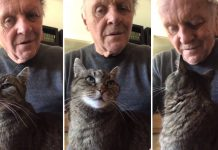 Anthony Hopkins Play Piano For His Cat