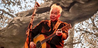 Mandatory Credit: Photo by Amy Harris/Invision/AP/Shutterstock (10311382cw) John Prine performs at the Bonnaroo Music and Arts Festival, in Manchester, Tenn 2019 Bonnaroo Music and Arts Festival - Day 3, Manchester, USA - 15 Jun 2019