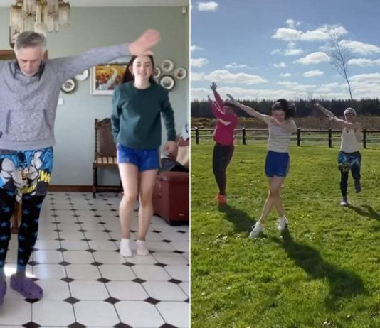 Watch This Irish Dad Learn a TikTok Dance With His Kids