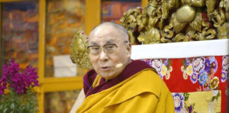 The Dalai Lama, Tibet's exiled spiritual leader.Kyodo News/Sipa USA