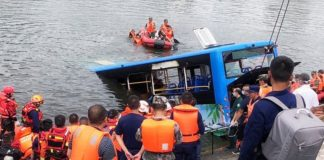 Bus driver in China deliberately drives off b bridge and kills 21