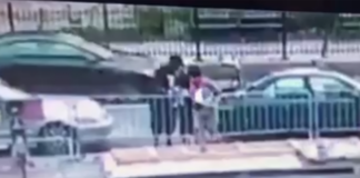 Brooklyn Bridge protesters caught on surveillance footage picking up a bats shipment before attacking NYPD cops