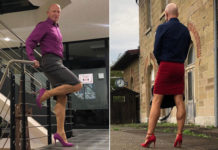 Mark Bryan, a 61-year-old engineer from Germany, documents his love of skirts and heels on his Instagram, @MarkBryan911.Instagram