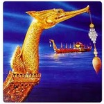 Image golden barge