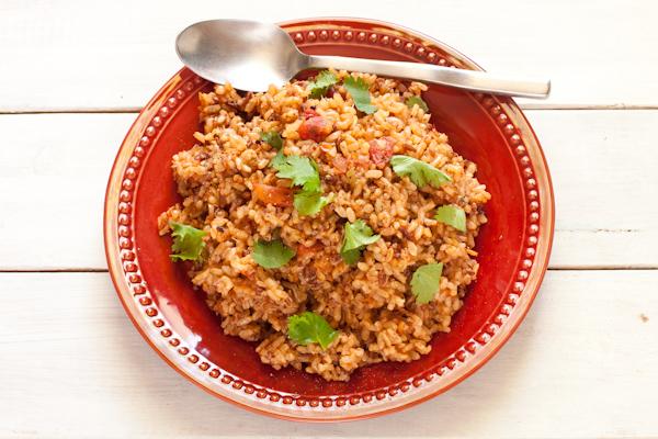 Salsa Rice   Gluten-free, low-sodium, vegan