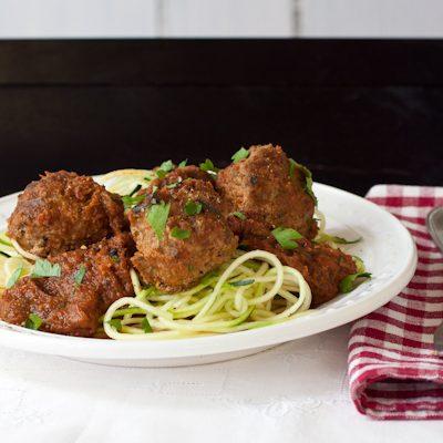 Slow cooker meatballs   Paleo, migraine-friendly, low-sodium