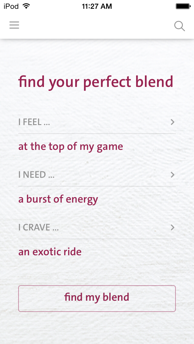 Find Your Blend | Blender Girl Smoothie App