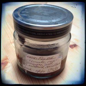 Ripe Restaurant, South Brisbane   Leftover jar from my takeaway coconut yogurt