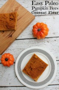 Paleo pumpkin bars by Confessions of an Overworked Mom