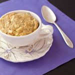 Apple-spice paleo mug cake | Grain-free, dairy-free, low-sodium | Recipe Renovator