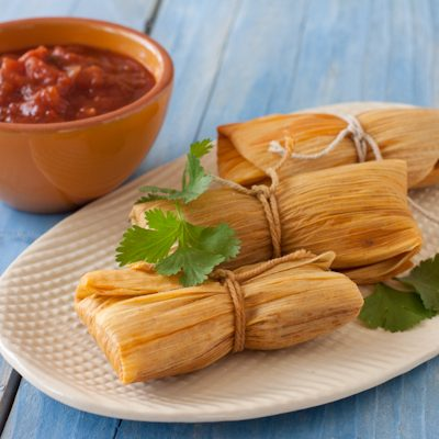 Grain-free paleo tamales in the pressure cooker