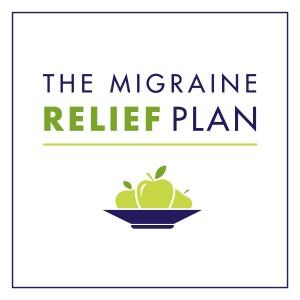 The Migraine Relief Plan logo square border