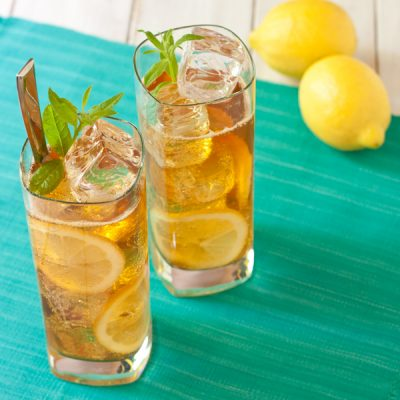 Lemon-verbena Pimm's® cocktail