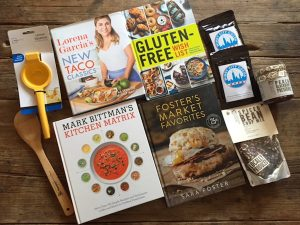 December readers' sweepstakes prizes | 4 gift cookbooks plus artisan food goodies from Recipe Renovator. Ends 12/21/15 at 11:59 PM PST