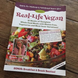 Book review: Real-Life Vegan by Victoria Laine | Review by Recipe Renovator