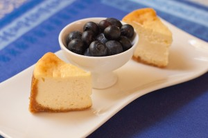 Cheesecake with blueberries | Migraine Relief Plan