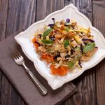 Zucchini Pad Thai inspired by Eating Clean on Recipe Renovator   Paleo, grain-free, gluten-free, Whole30 compliant