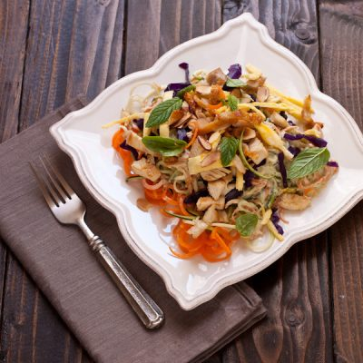 Zucchini pad Thai {paleo, grain-free}