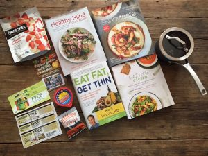 March Readers' Sweepstakes on Recipe Renovator: Calphalon non-stick saucepan, 4 healthy cookbooks, plus lots of other goodies. Ends 4/5/16 at 11:59 PM PDT.