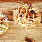 Spicy Fish Tacos, super easy, super quick! Migraine-friendly, from The Migraine Relief Plan