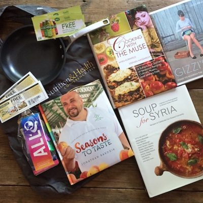 May readers' sweepstakes: 4 gift cookbooks + Calphalon sauté pan