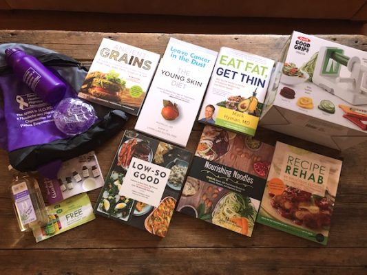 June readers' sweepstakes: 7 books + OXO spiralizer + goodies
