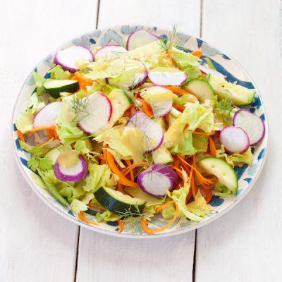 No-lettuce leftovers salad