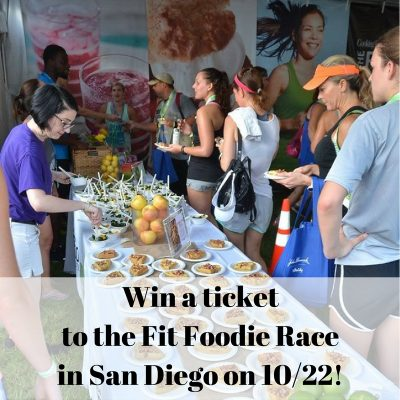 Win a ticket to the Fit Foodie Race in San Diego on 10/22!