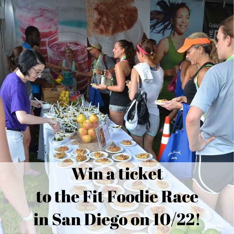 Fit Food Race ticket giveaway, ends 10/15/16
