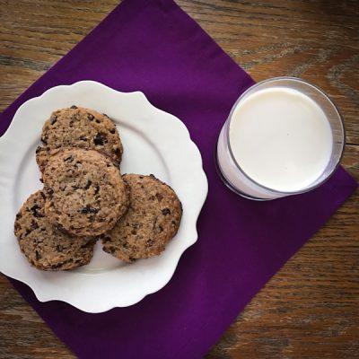Paleo cacao nib cookies {grain-free}