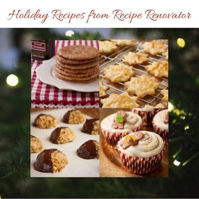 Holiday recipes from Recipe Renovator