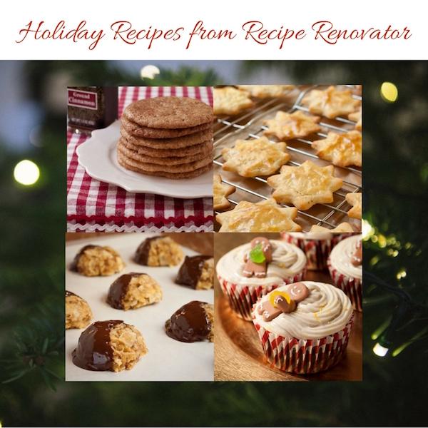 Holiday recipes from Recipe Renovator   All gluten-free!