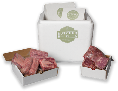 Featured migraine-friendly product: Butcher Box