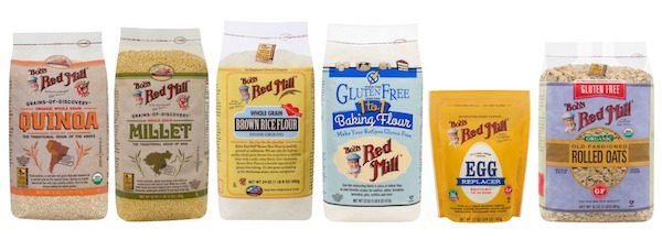 Featured migraine-friendly product: Bob's Red Mill gluten-free flours