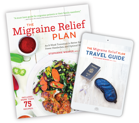 The Migraine Relief Plan Travel Guide FREE