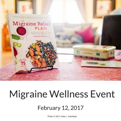 The Migraine Relief Plan book launch